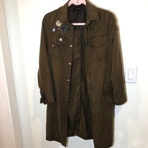ZARA TRAFULUC JACKET XS MINT CONDITION WORTH $125